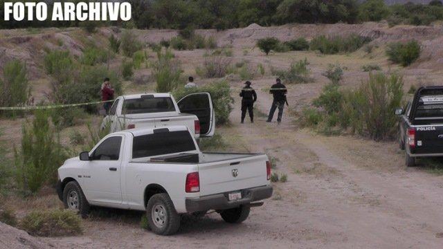 ¡Encontraron a un hombre ejecutado en un camino de terracería en Zacatecas!