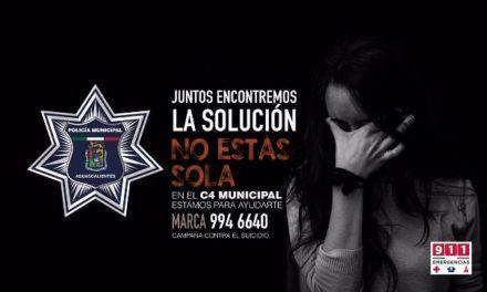 ¡7 personas intentaron matarse en las últimas 72 horas en Aguascalientes y policías municipales las rescataron!