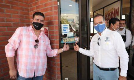 ¡Empresarios de Aguascalientes comprometidos con la salud de la población y la recuperación del empleo!