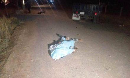 ¡Motociclista falleció embestido por camioneta materialista en Aguascalientes!