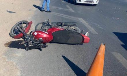 ¡Motociclista murió tras chocar de frente contra una camioneta en Fresnillo!