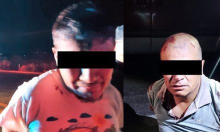 ¡Par de sujetos que dispararon a policías fueron detenidos en Aguascalientes!