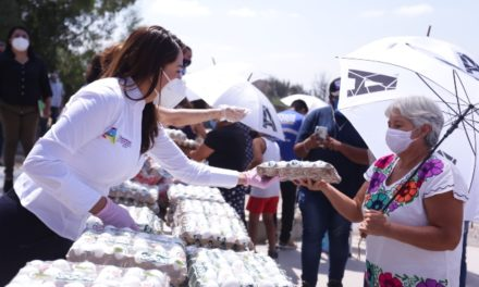 ¡Tere Jiménez realizó gira de entrega de apoyos en comunidades rurales!