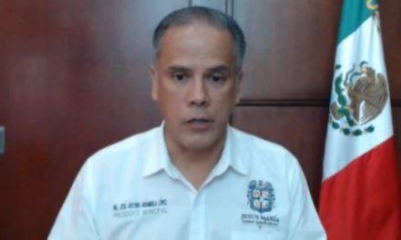 ¡4 casos de COVID-19 confirmados en Presidencia Municipal de Jesús María!