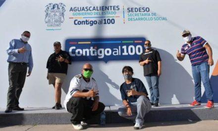 ¡Unen esfuerzos Desarrollo Social e integrantes de Barrios Unidos Aguascalientes!