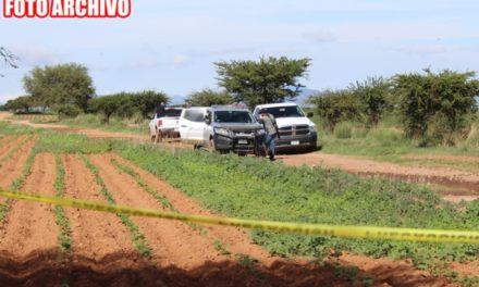 ¡Una persona fue ejecutada y enterrada en Altamira, Fresnillo!