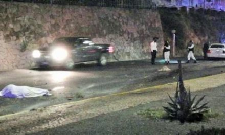 ¡Automovilista arrolló y mató a un hombre y su mascota en Zacatecas!