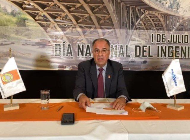 ¡Los ingenieros reportan poca actividad laboral debido a pandemia y recortes presupuestales: Francisco Díaz de León!
