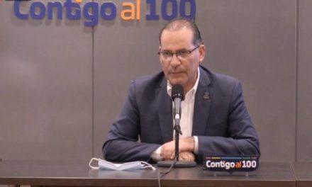 ¡Se agota el recurso estatal para atención de pandemia, solicitarán 50 millones más: Martín Orozco Sandoval!