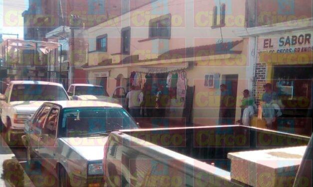 ¡Intentan ejecutar a un hombre en la zona centro de Calera!