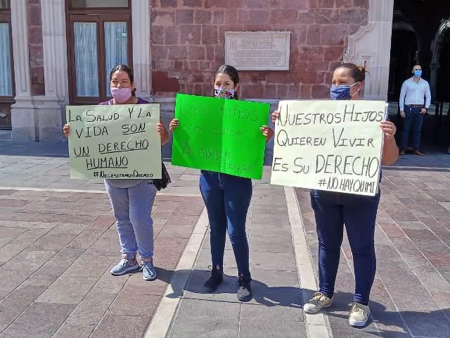 ¡Aunque el Gobierno Federal lo niegue, hay desabasto de medicamento oncológico: Angélica Rangel Ahumada!
