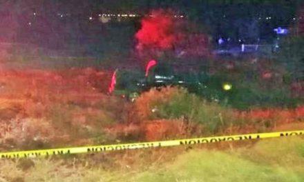 ¡Hombre murió tras la volcadura de su camioneta en Guadalupe!