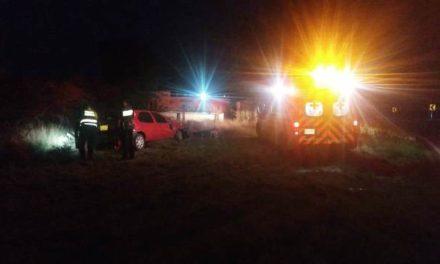¡2 muertos y 3 lesionados tras volcadura de un automóvil en Aguascalientes!