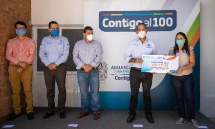 ¡Ante la pérdida de fuentes laborales a causa de la pandemia, en Aguascalientes trabajamos para conservar y generar empleos: MOS!