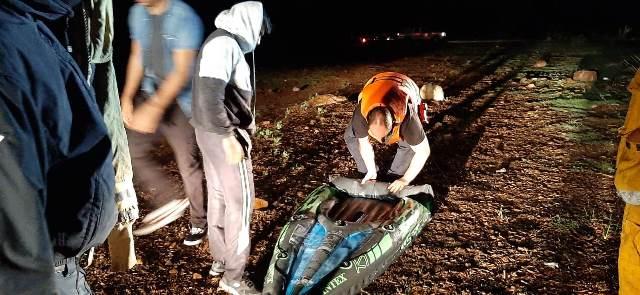 ¡Bomberos rescataron a zacatecano que cayó a la presa Abelardo L. Rodríguez en Jesús María!