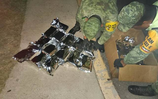 ¡Ejército Mexicano decomisó más de media tonelada de droga en Aguascalientes!