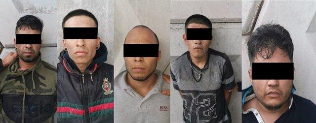 ¡Detuvieron a 5 jaliscienses que atracaron una caja de préstamos en Aguascalientes!
