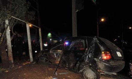 ¡Delincuente murió tras una persecución policíaca en Aguascalientes!