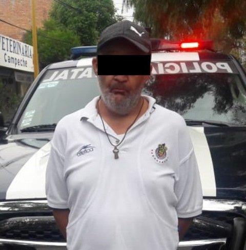 ¡Detuvieron a narco-taxista con medio kilo de marihuana policías estatales de Aguascalientes!