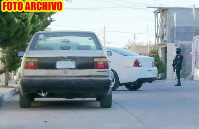 ¡Dos hombres fueron ejecutados dentro de una casa en Guadalupe!