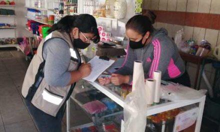 ¡Guardia Sanitaria de Pabellón de Arteaga ya ha emitido actas y clausuras de negocios!