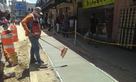 ¡Invierte Tere Jiménez 4.5 millones de pesos en rehabilitación de la calle Unión!