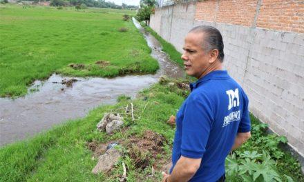 ¡Intensifica el Municipio de Jesús María el trabajo para atender daños por lluvias!