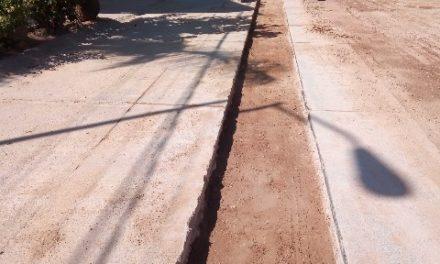 ¡Mejora Municipio red de agua potable en la colonia Gómez Portugal!