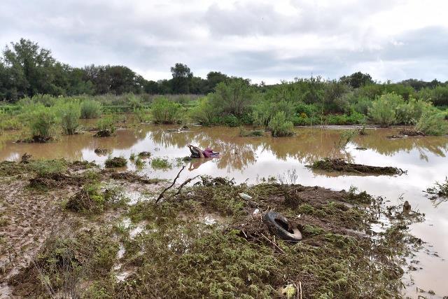 ¡Joven murió ahogado tras ser arrastrada su camioneta por la corriente de un arroyo en Aguascalientes!