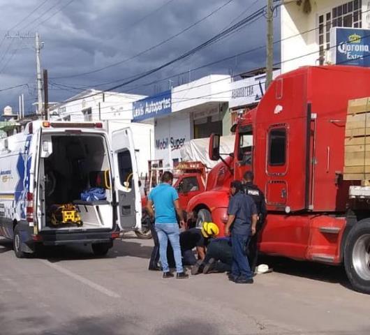 ¡Adulto mayor murió atropellado por una joven en Calvillo, Aguascalientes!