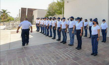 ¡Municipio prepara nuevos policías para servir a la ciudadanía!