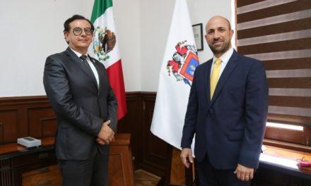 ¡Nombra gobernador a Manuel Cortina Reynoso como subsecretario general de Gobierno!