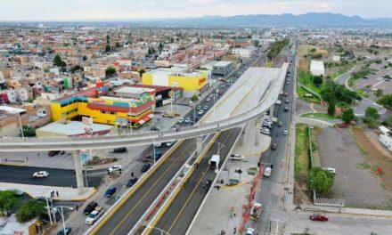 ¡Nuevo puente vehicular de Mariano Hidalgo y avenida Aguascalientes se cimenta en una visión de mejor movilidad, prosperidad y medio ambiente para el Estado!