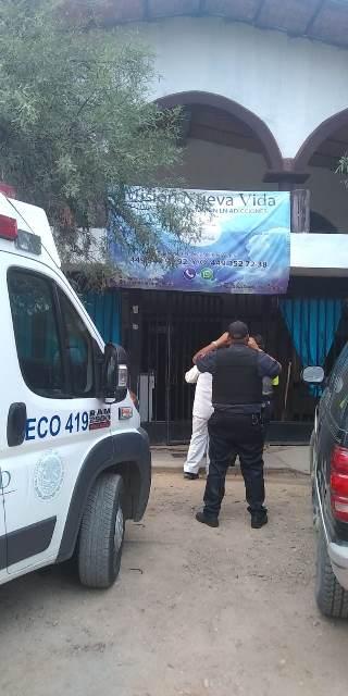 ¡Joven alcohólico murió en un anexo en Pabellón de Arteaga, Aguascalientes!