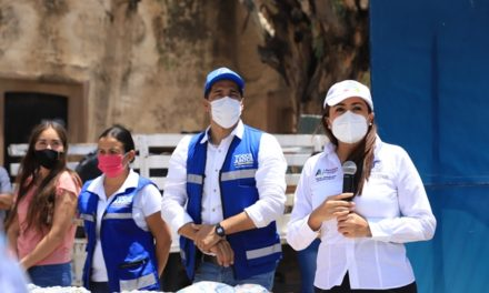 ¡Tere Jiménez lleva apoyos a comunidades rurales del oriente!