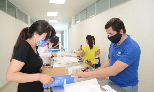 ¡Universidades estatales apoyan al personal médico con equipo de protección!