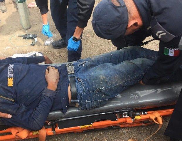 ¡Volcadura de camioneta en Aguascalientes dejó 3 lesionados, uno de ellos grave!