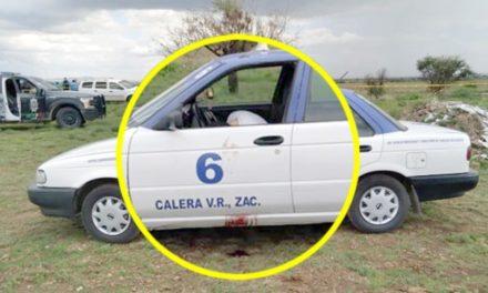"""¡Ejecutaron al empleado municipal y taxista """"El Melcocha"""" en Calera!"""