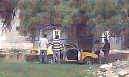 """¡""""Levantaron"""" y ejecutaron a un taxista en Lagos de Moreno!"""