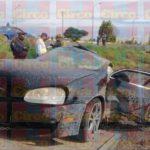 ¡Auto se partió en dos tras fuerte accidente en Fresnillo y el chofer está grave!