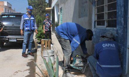 ¡Anuncia JAAL la rehabilitación de la calle Feliciano Martínez en Chicahuales!