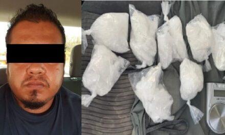 """¡Detuvieron al narcomenudista """"El Moy"""" con casi un kilo de """"crystal"""" en Aguascalientes!"""
