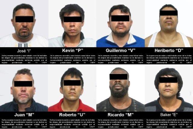¡FGR obtuvo vinculación a proceso contra 8 sicarios detenidos en Zacatecas!