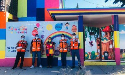 ¡Guardia Sanitaria visitó 133 estancias infantiles o guarderías, mismas que ya recibieron su emblema de espacio seguro!