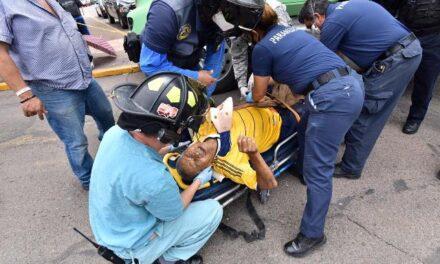 ¡Hombre murió atropellado por un camión torton en Aguascalientes!