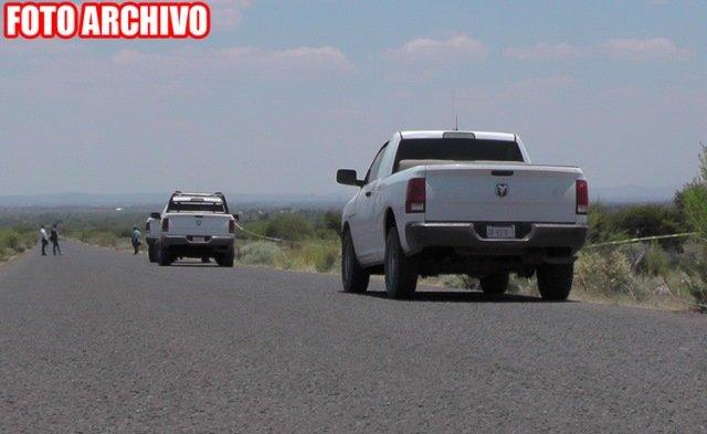 ¡Hallaron a tres hombres ejecutados y con un narco-mensaje en Jerez!