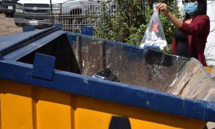 ¡Invita Municipio a separar residuos infecciosos para facilitar su recolección!