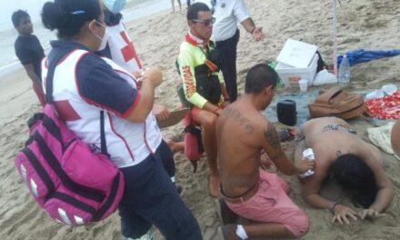 ¡Una joven alcoholizada originaria de Aguascalientes estuvo a punto de morir ahogada en Puerto Vallarta!