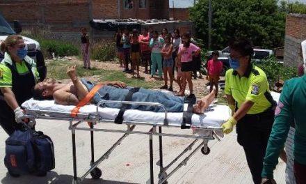 ¡Grave individuo que fue apuñalado por un sujeto en Aguascalientes!