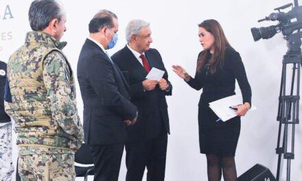 ¡Pide Tere Jiménez al presidente más recursos para Aguascalientes!